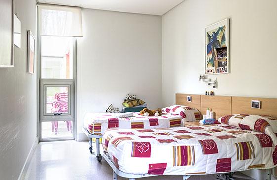 residencia permanente Aspace Valladolid parálisis cerebral