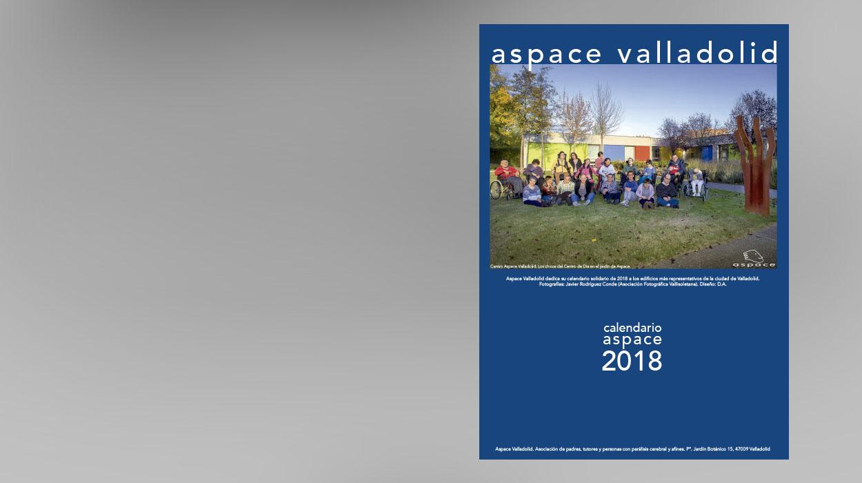 calendario solidario aspace valladolid 2018