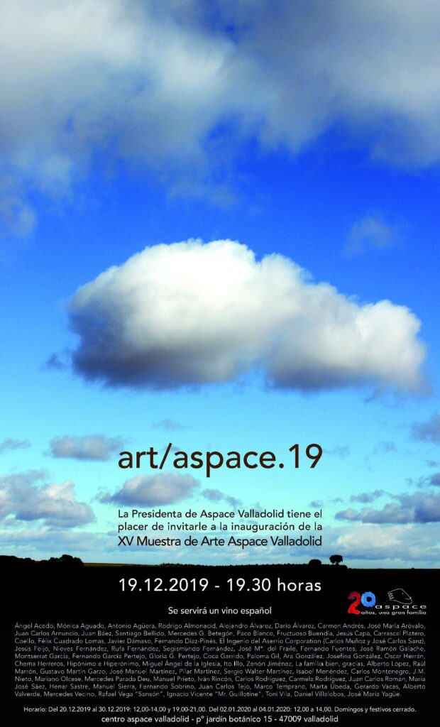 Invitación artaspace 2019