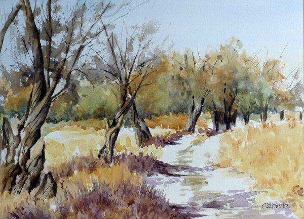 Art Aspace.20 - Carmela Rodríguez, El monte en otoño
