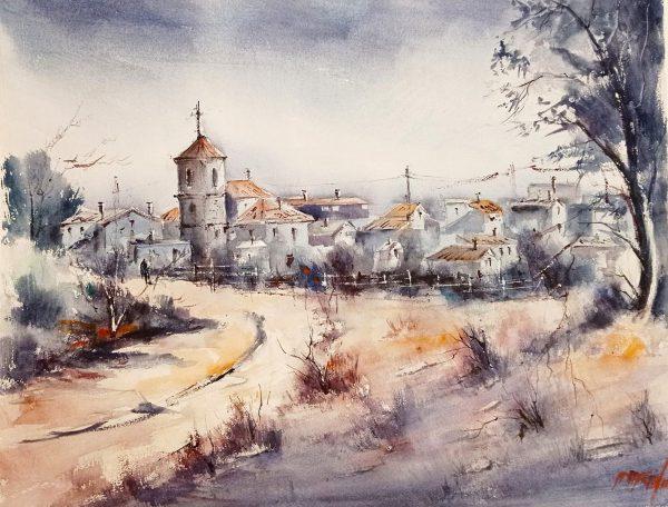 Art Aspace.20 - Isabel Menéndez Izquierdo, Invierno en Castilla